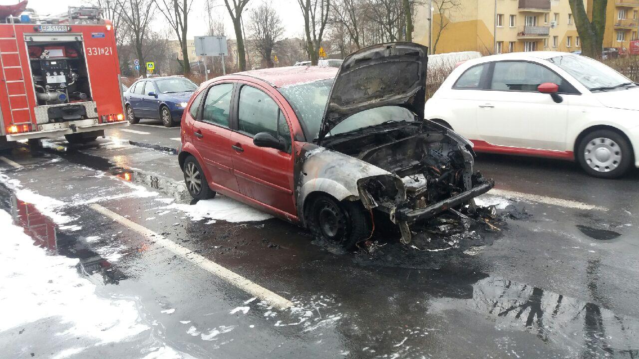 Photo of Samochód w płomieniach