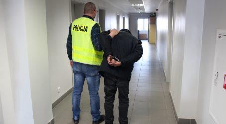 Damski bokser zatrzymany