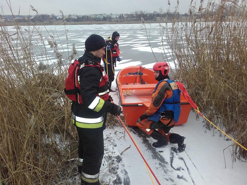Photo of Ćwiczyli ratowanie na lodzie