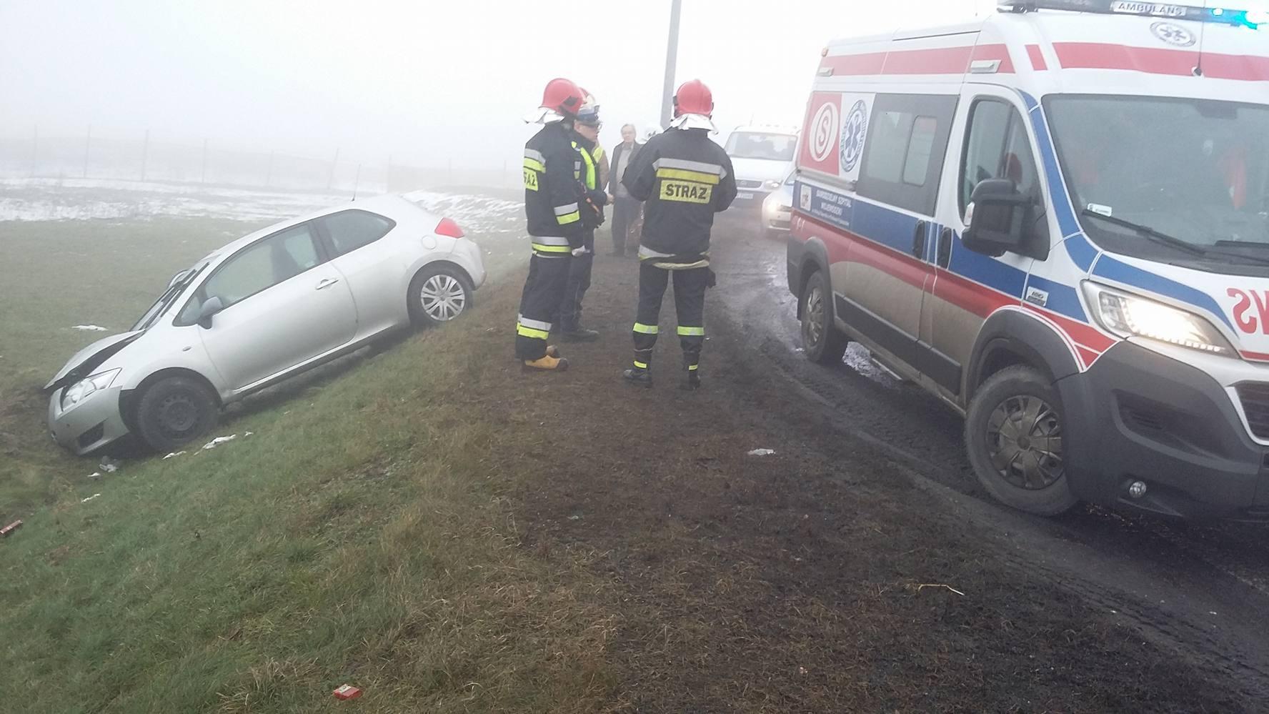 Photo of Wypadek we mgle