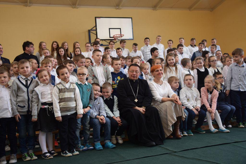 Photo of Arcybiskup Grzegorz Ryś z wizytą w szkole