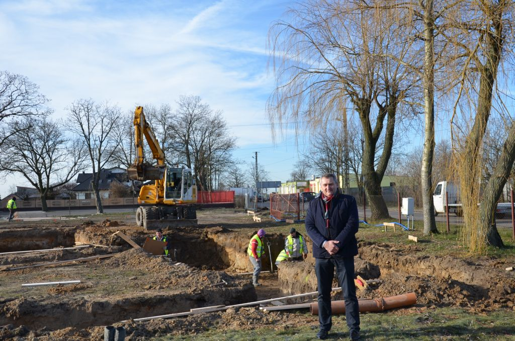 Photo of Ruszyła budowa Gminnego Centrum Kultury w Grabicy