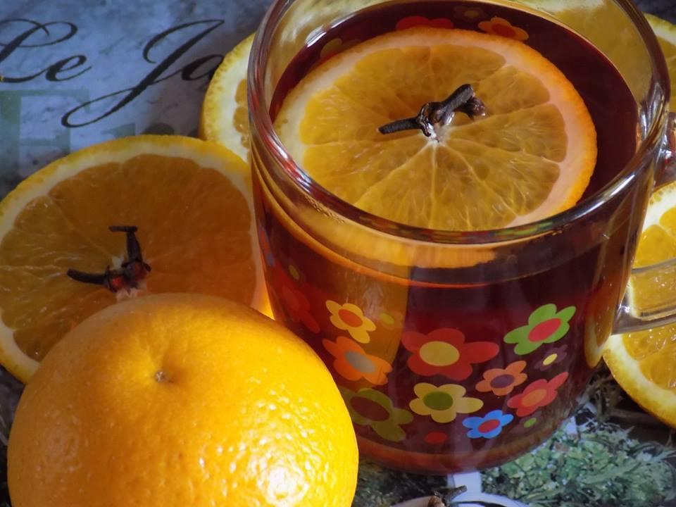 Photo of Rozgrzewająca herbata z pomarańczą