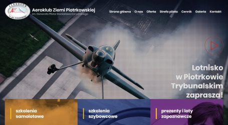 Aeroklub ma nową stronę