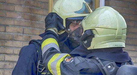 Pożar w szkole w Srocku