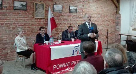 Antoni Macierewicz gościł w Rozprzy