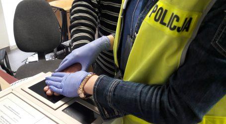 17-letni złodziej-włamywacz w rękach policji