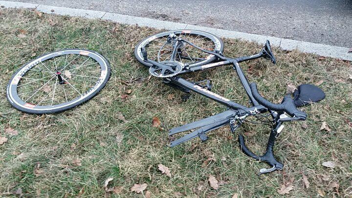 Photo of Potrącenie rowerzysty na rondzie Zaremby