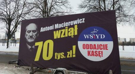 """""""Konwój wstydu"""" w Piotrkowie Trybunalskim"""
