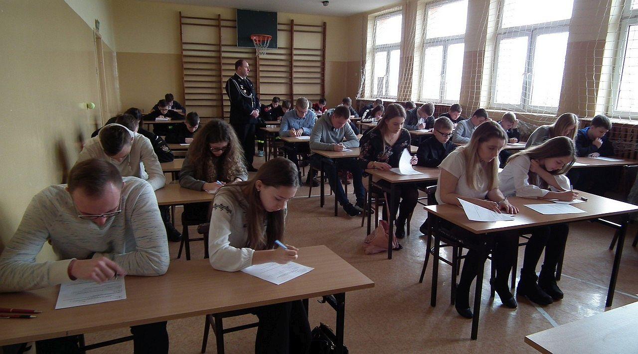 """Photo of """"Młodzież zapobiega pożarom"""" w Krzyżanowie"""