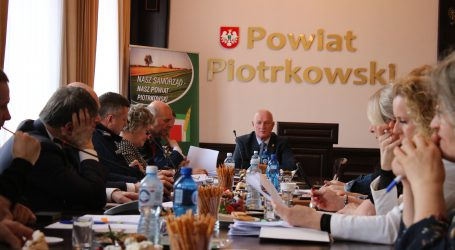 Falą włamań do domów zajął się Zarząd Powiatu Piotrkowskiego