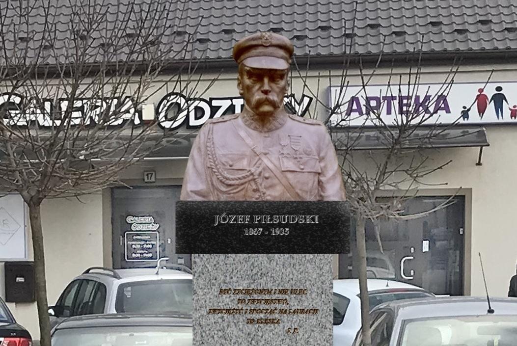 Photo of Pomnik Marszałka Piłsudskiego w Wolborzu