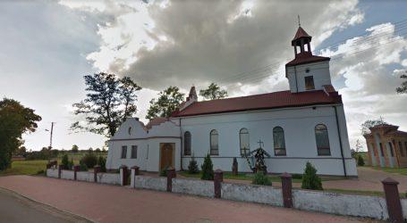 Pożar w kościele w Woli Kamockiej