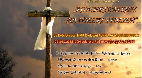 Koncert Pasyjny we Włodzimierzowie