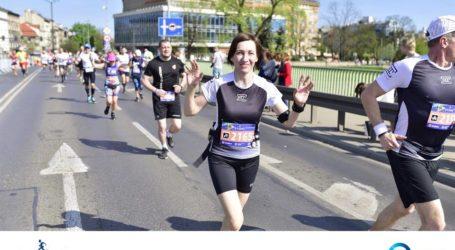Piotrkowianie w maratonie krakowskim