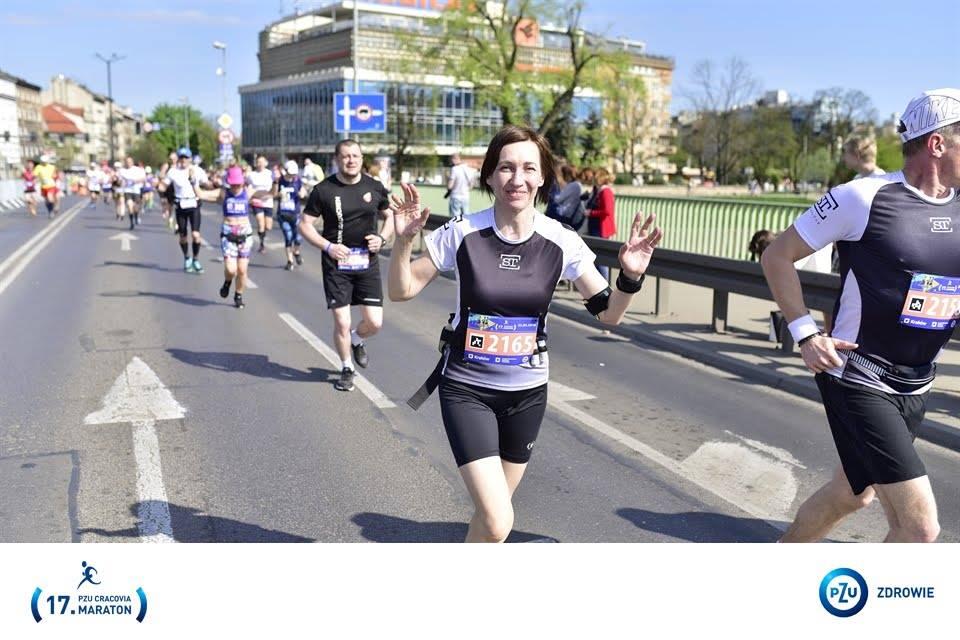 Photo of Piotrkowianie w maratonie krakowskim