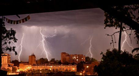 Burza nad Piotrkowem i regionem
