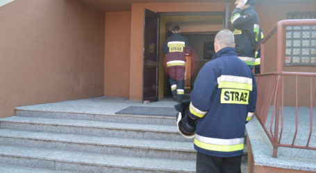 Pożar w sulejowskiej podstawówce