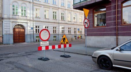 Remont na ulicy Sienkiewicza