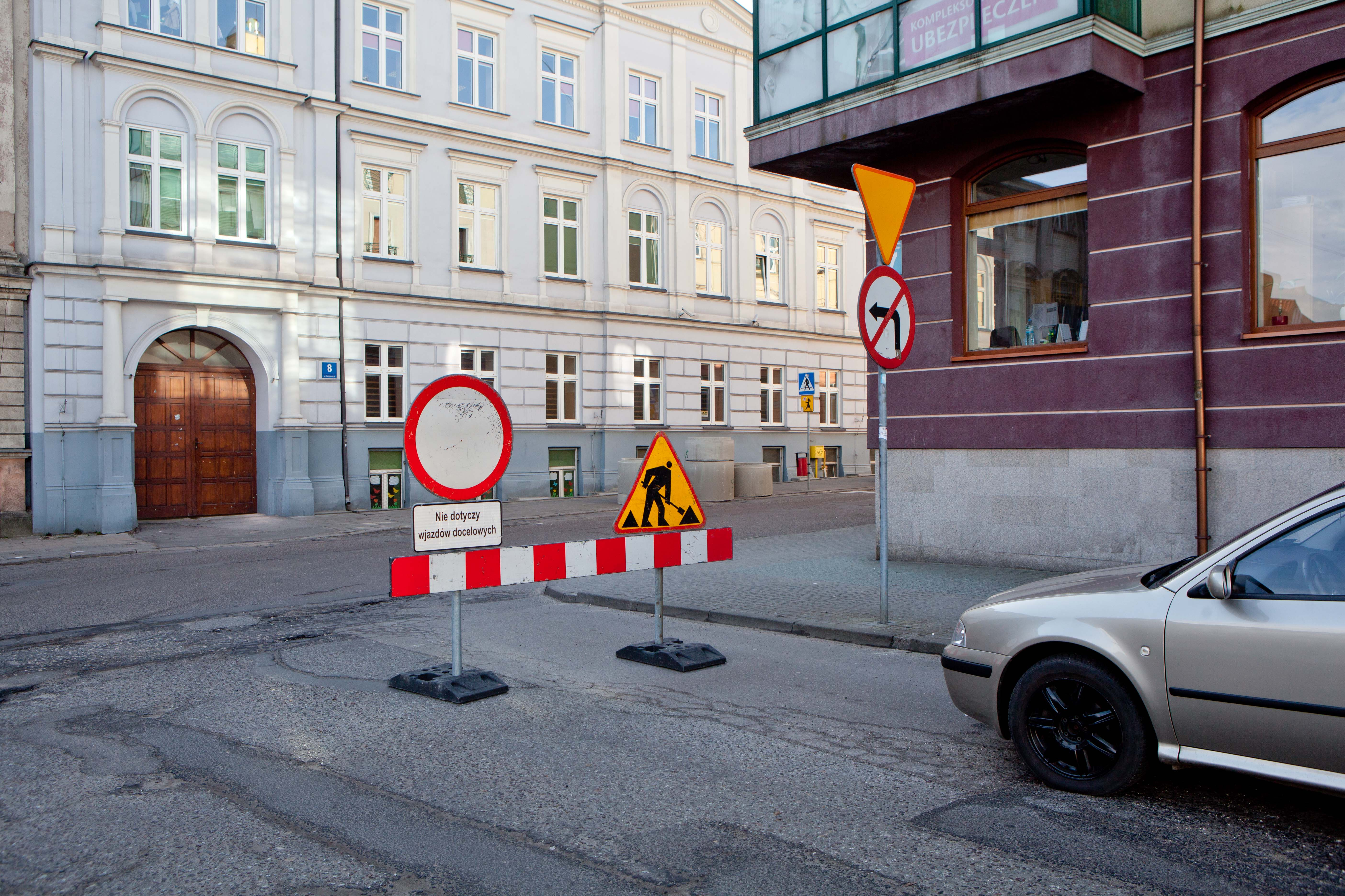 Photo of Remont na ulicy Sienkiewicza