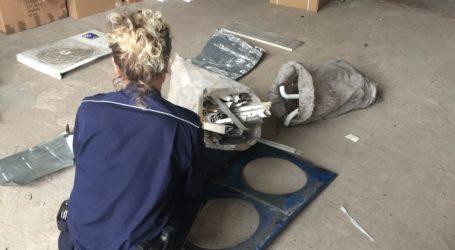Zbieracz złomu włamał się do szpitala