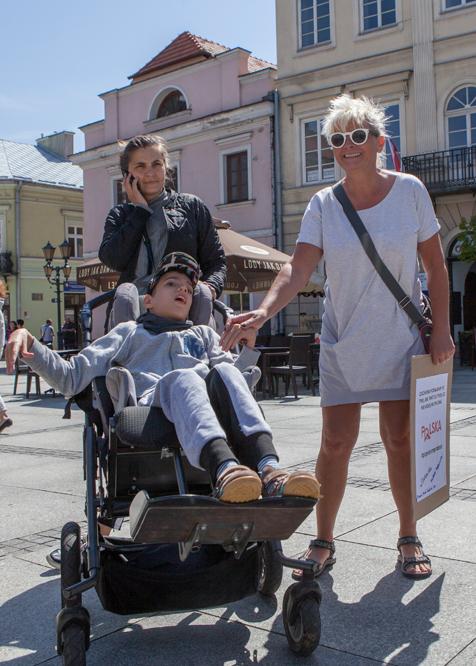 Photo of Protest niepełnosprawnych w Piotrkowie