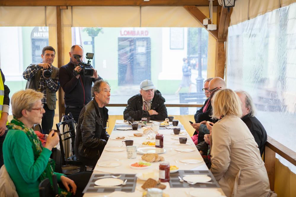Photo of Śniadanie z artystami