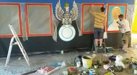 Patriotyczny mural