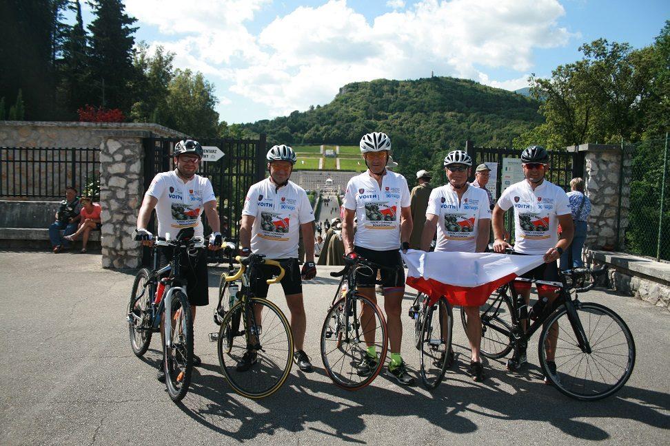 Photo of Sztafeta rowerowa dojechała na Monte Cassino