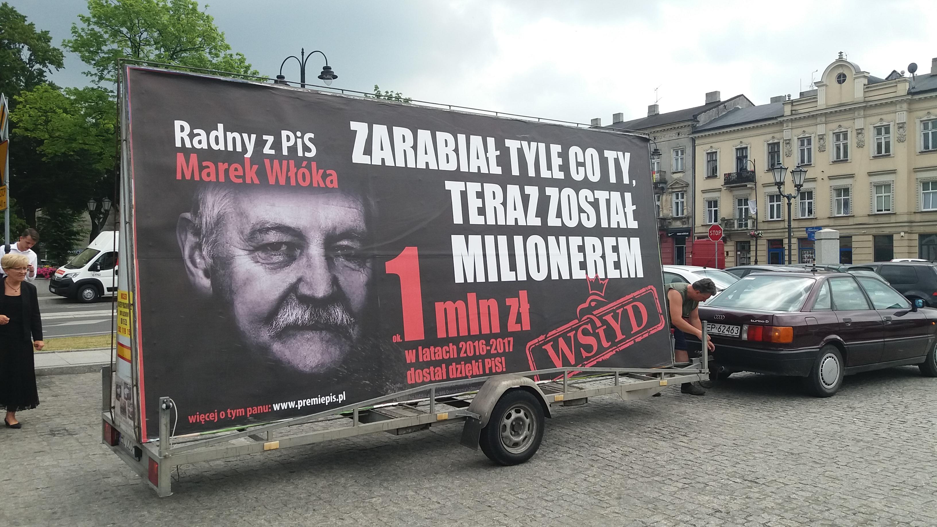 Photo of Konwój wstydu w Piotrkowie [VIDEO]
