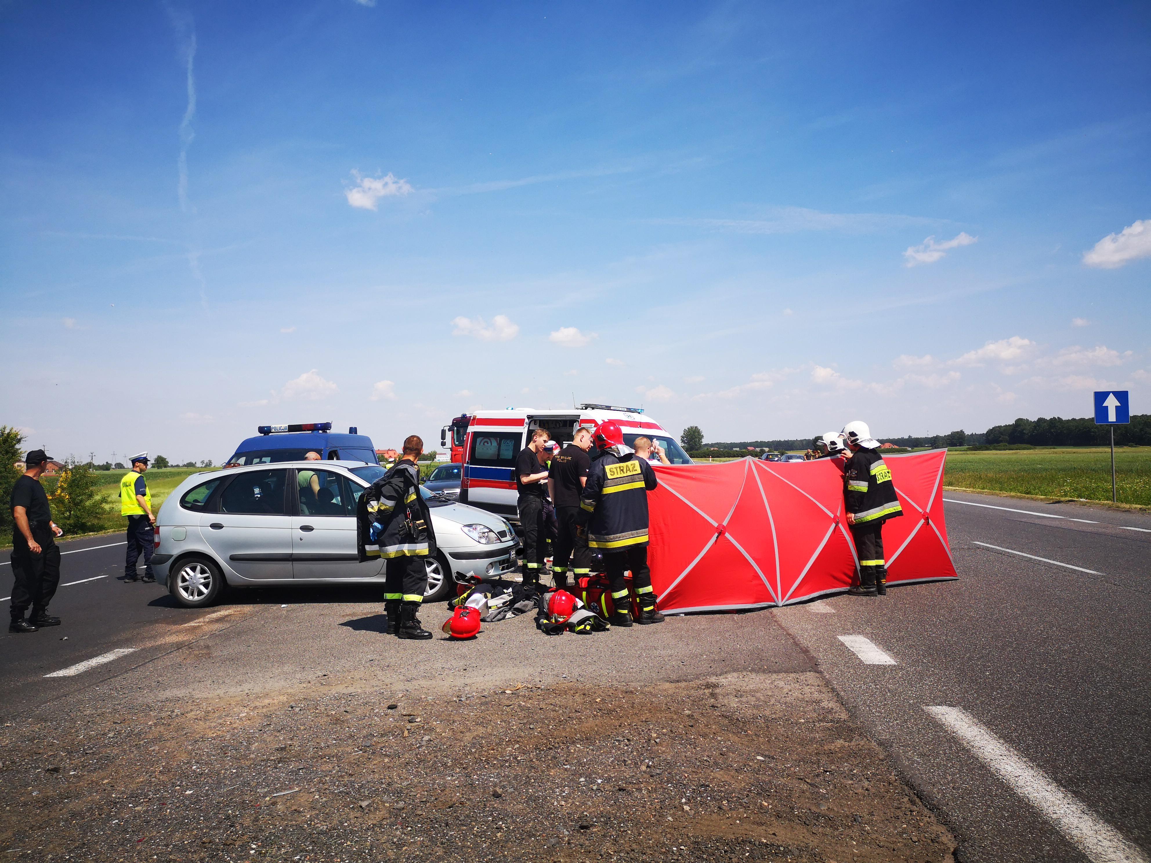 Photo of Wypadek motocyklisty na DK1 [AKTUALIZACJA]