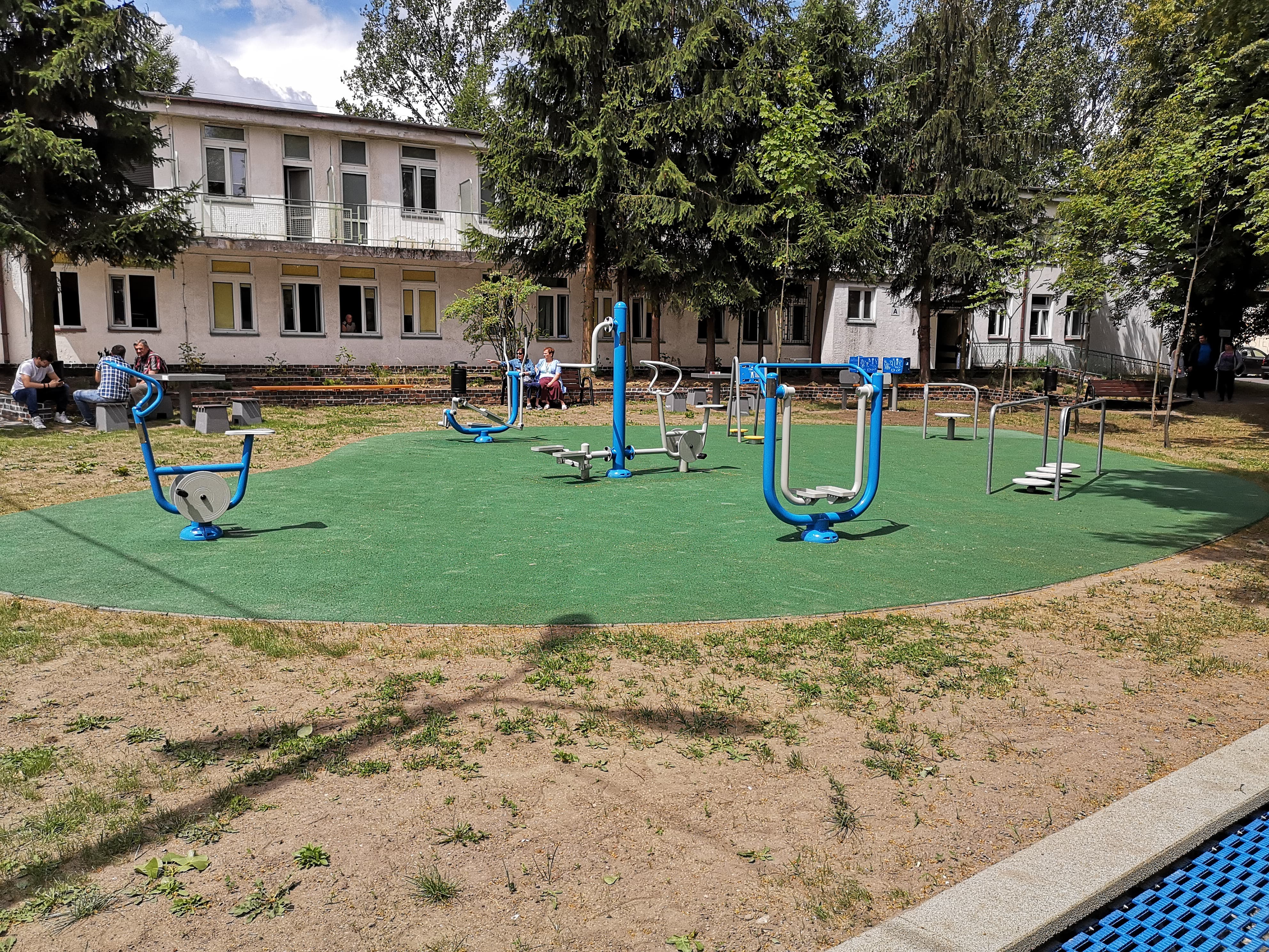 Photo of W szpitalu na Rakowskiej działa park rehabilitacyjny