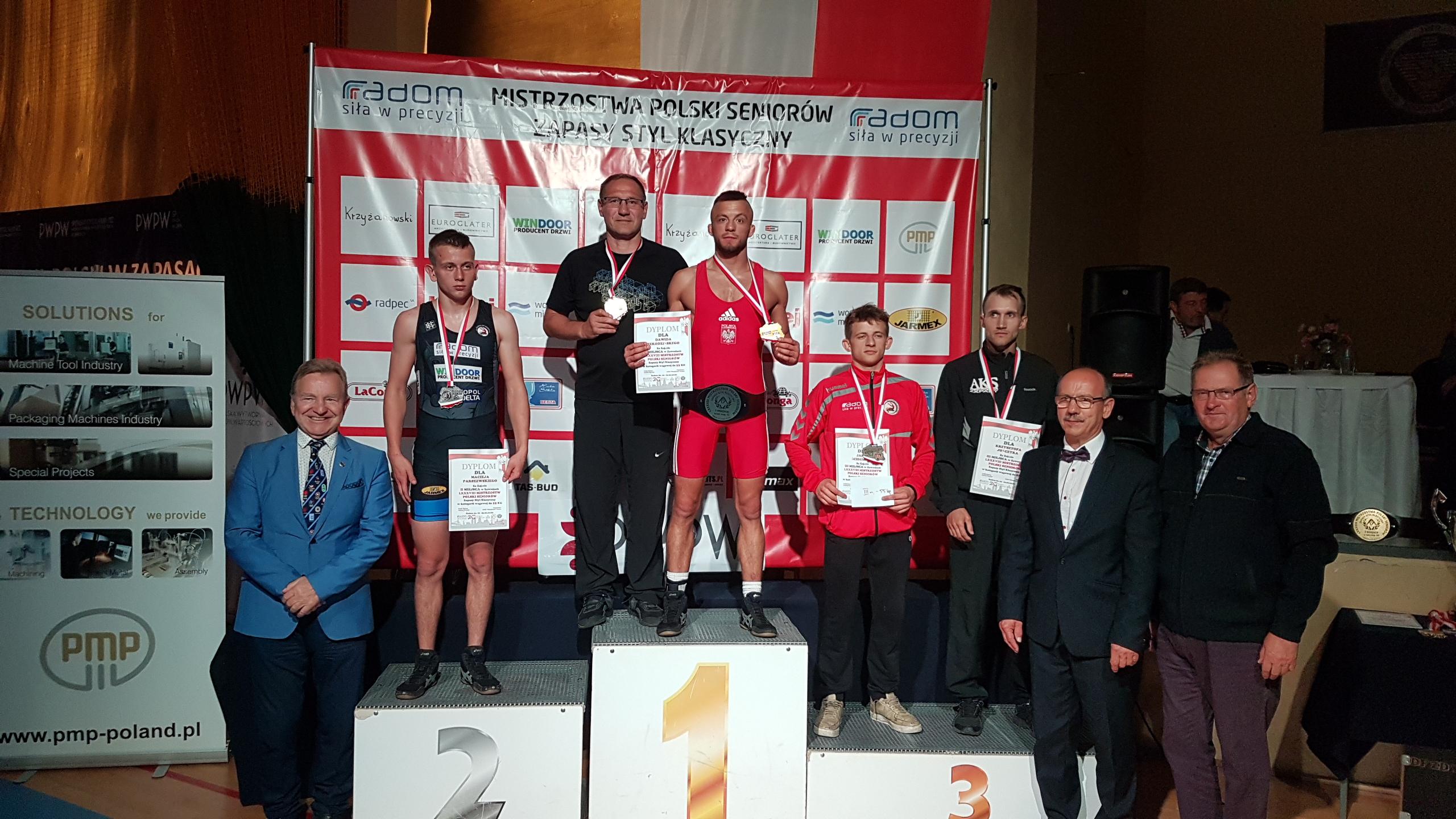 Photo of Dawid Szkodziński z AKSu, mistrzem Polski