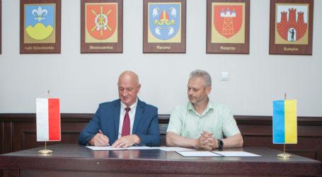 Delegacja ukraińska w powiecie piotrkowskim