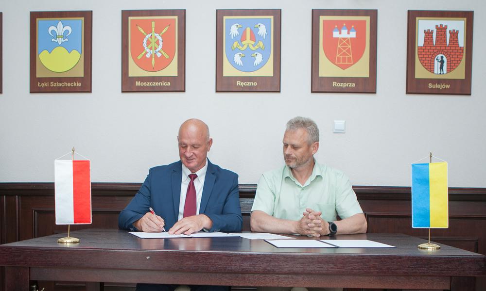 Photo of Delegacja ukraińska w powiecie piotrkowskim