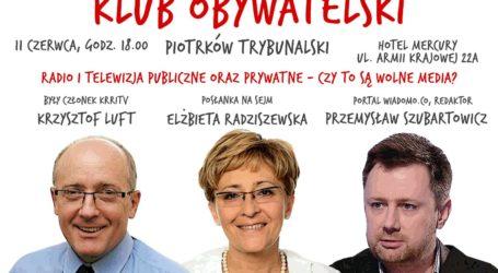 Spotkanie Klubu Obywatelskiego