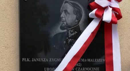 W Czarnocinie odsłonięto tablicę Janusza Jagryma-Maleszewskiego [AKTUALIZACJA]