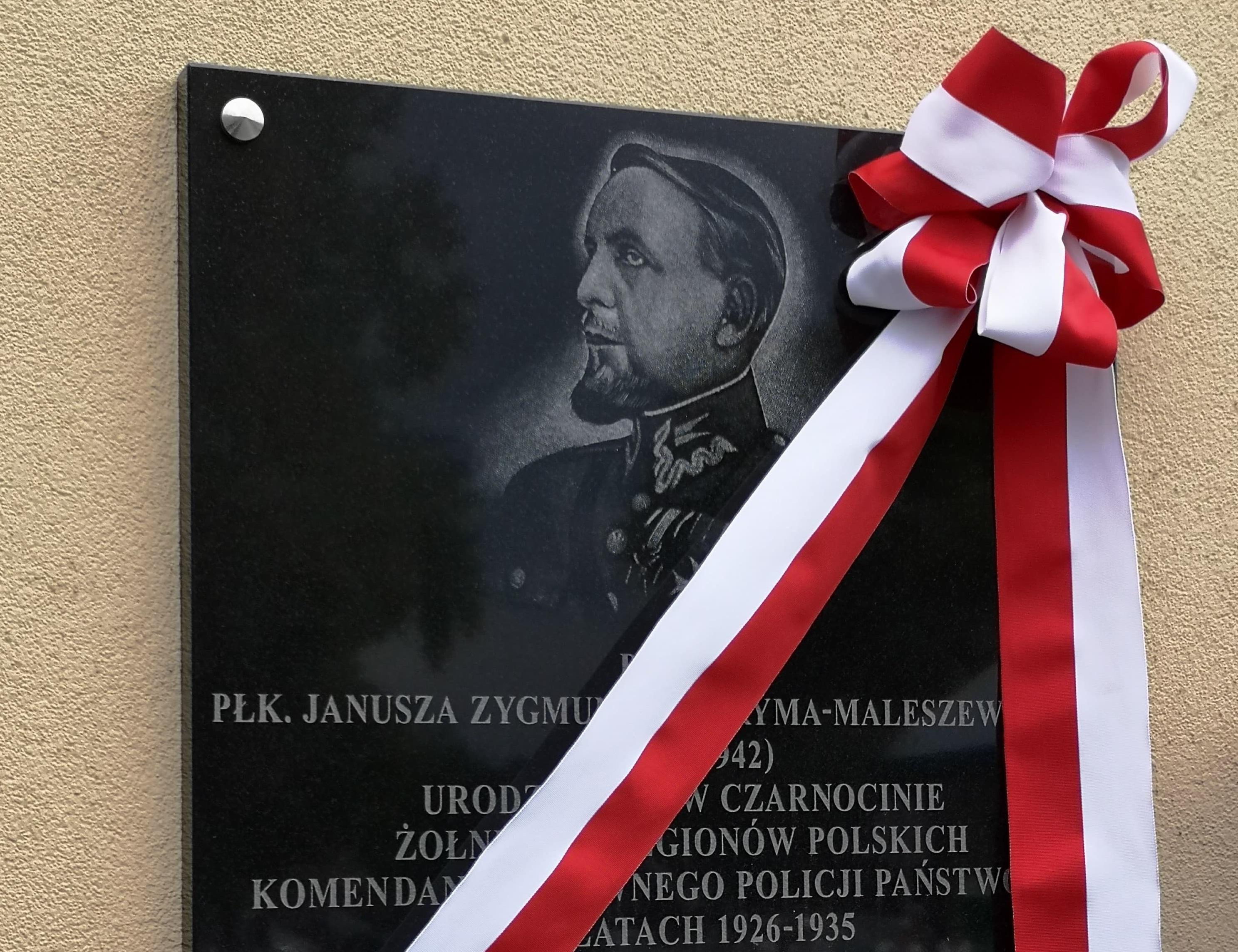 Photo of W Czarnocinie odsłonięto tablicę Janusza Jagryma-Maleszewskiego [AKTUALIZACJA]