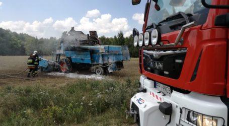 Kolejne pożary zbóż. Na polach płoną kombajny [ZDJĘCIA, VIDEO]