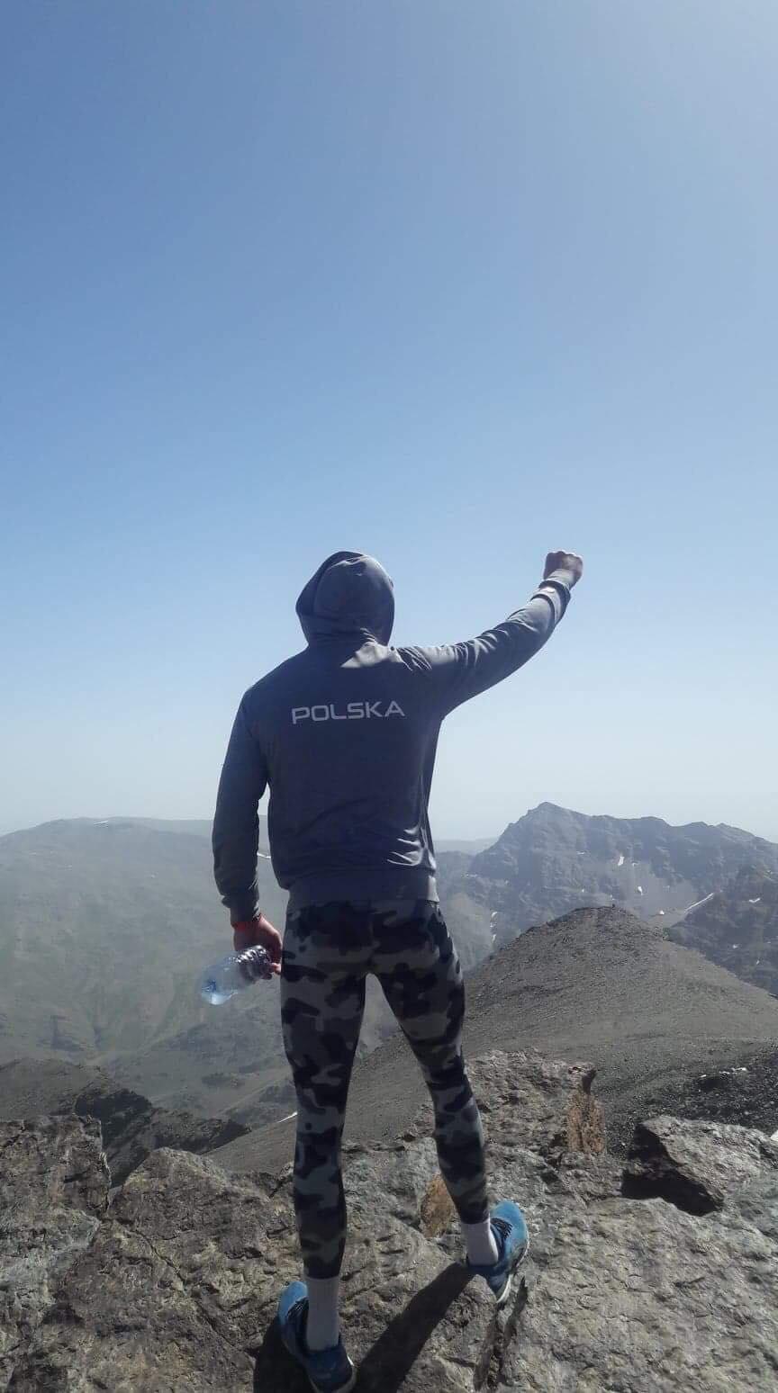 Photo of Mateusz Bernatek trenuje w Sierra Nevada