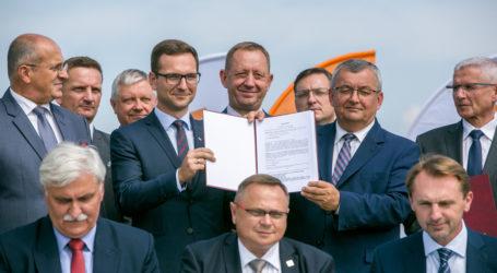 Podpisanie umowy na przebudowę A1