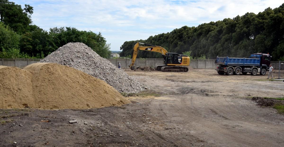 Photo of W Czarnocinie ruszyła budowa targowiska