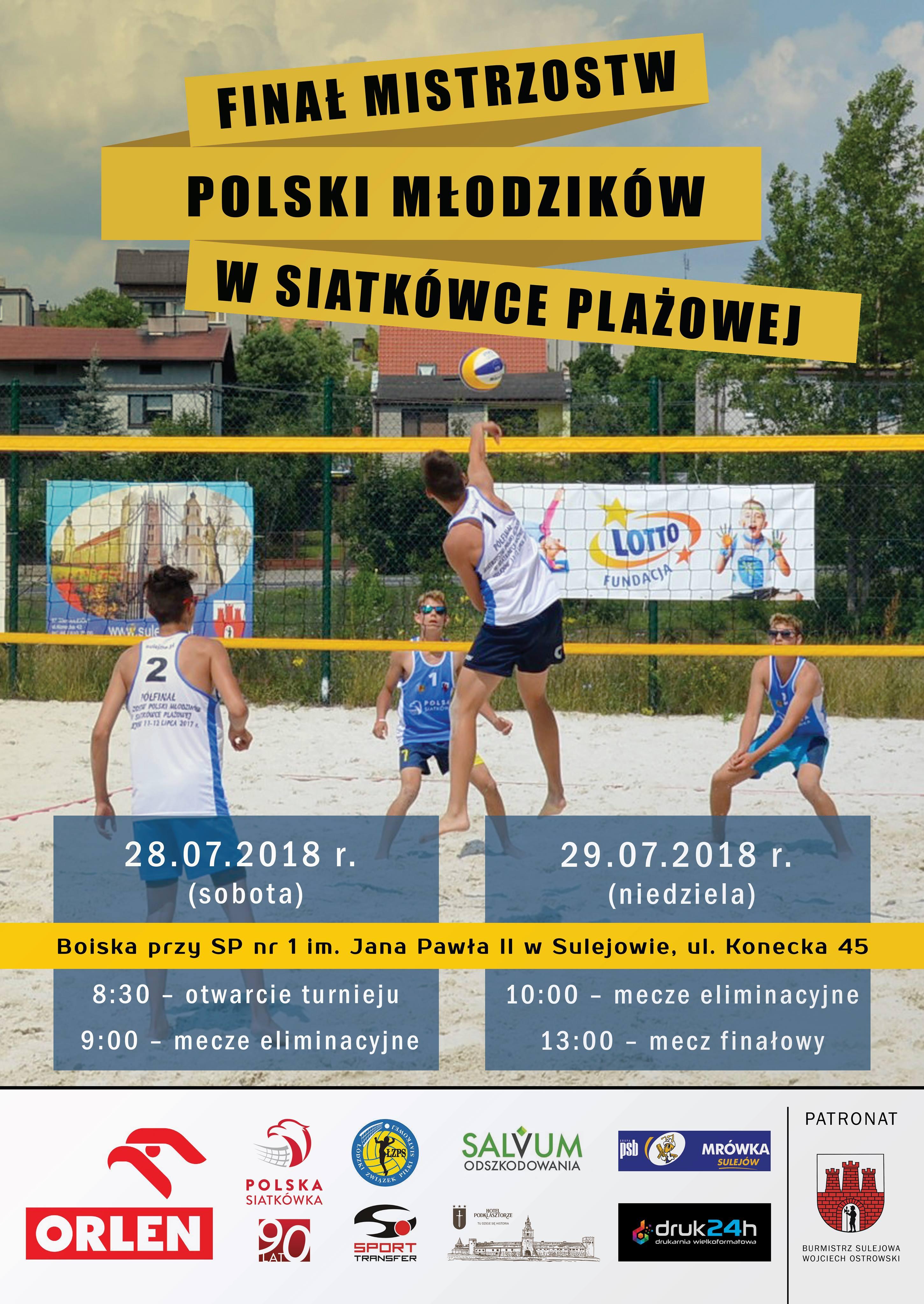 Photo of Finał turnieju siatkówki w Sulejowie