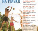 Rodzinne turnieje w siatkówkę plażową