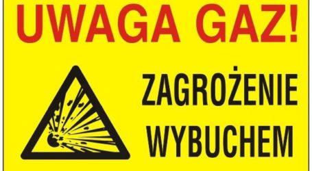 Przerwany gazociąg w Sulejowie [AKTUALIZACJA]