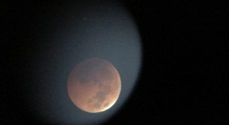 Zaćmienie Księżyca widziane z Piotrkowa