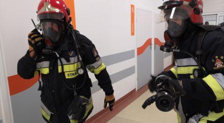 Próbna ewakuacja szpitala powiatowego [ZDJĘCIA + VIDEO]