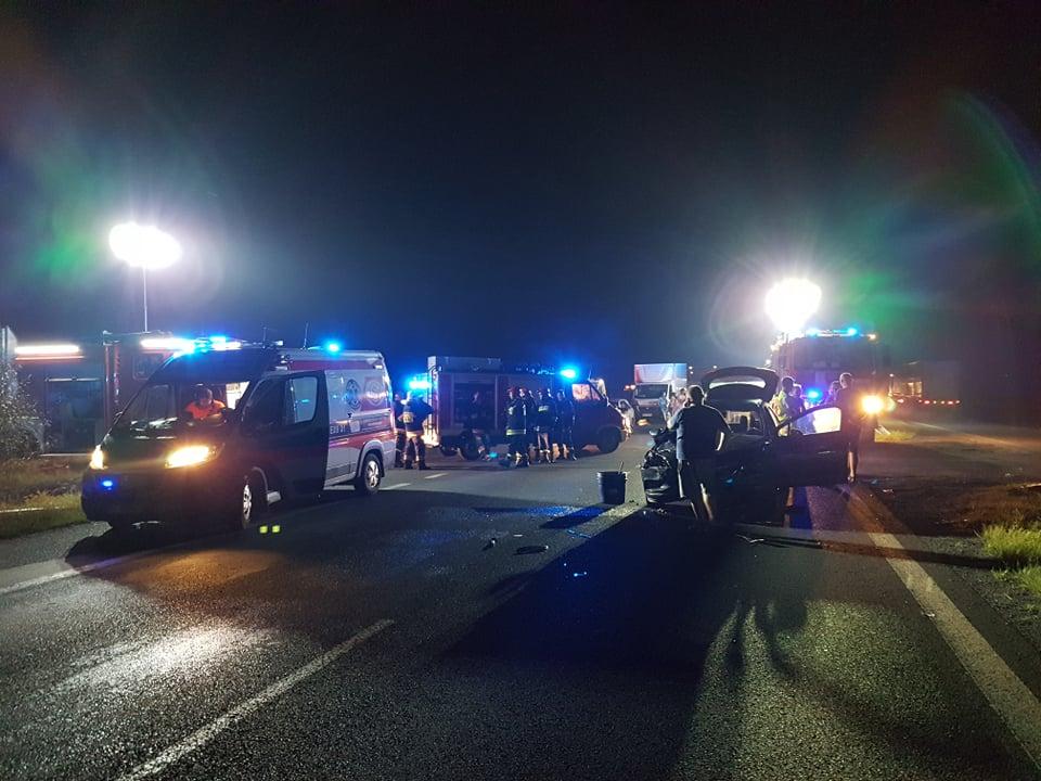 """Photo of Nocny wypadek na """"jedynce"""""""