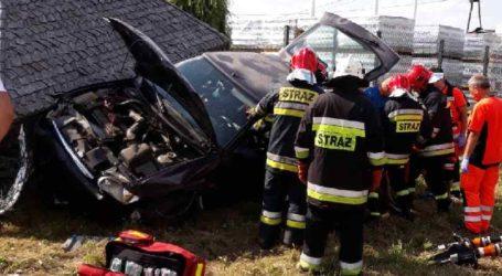 Wypadek w Kafarze