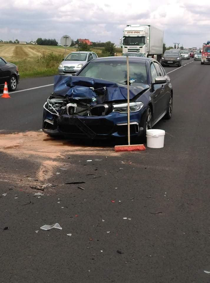 Photo of Wypadek na DK1. Ranne 3 osoby